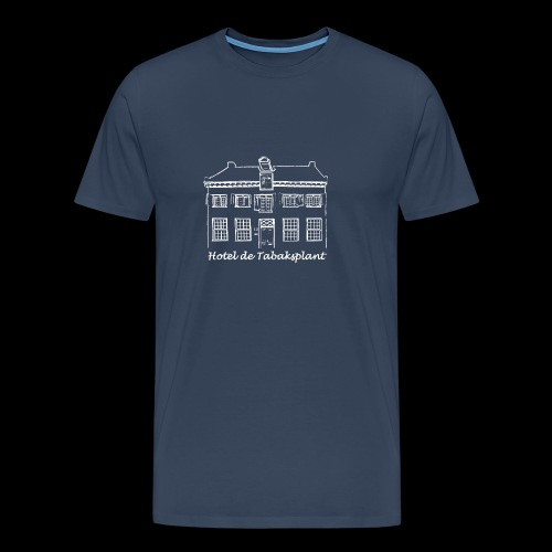 Hotel de Tabaksplant WIT - Mannen Premium T-shirt