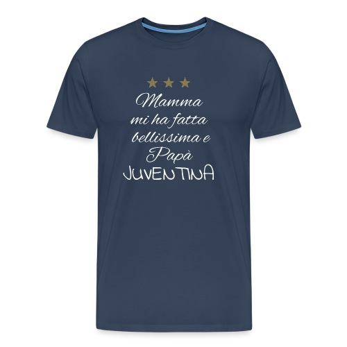 Juventina-bianca - Maglietta Premium da uomo