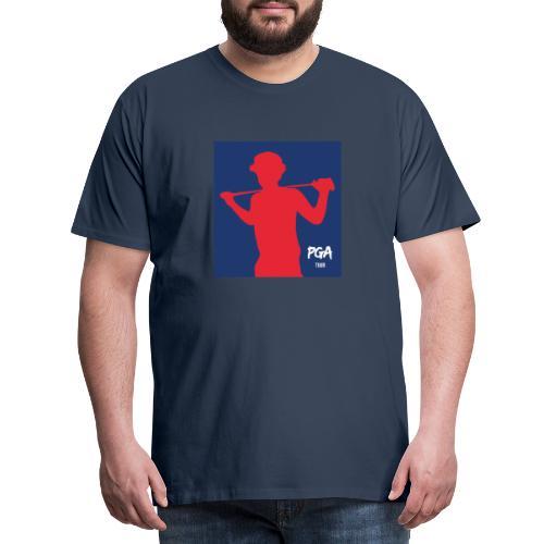 pga newbie blue - Miesten premium t-paita