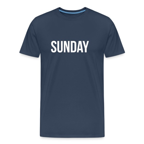 Sunday - Miesten premium t-paita
