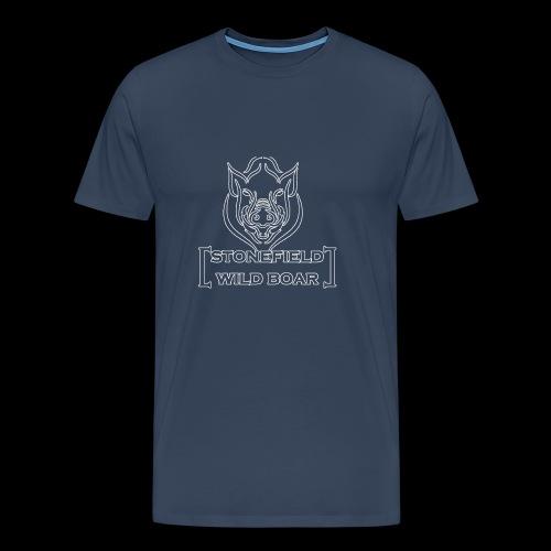 stonfield wild boar png - Männer Premium T-Shirt