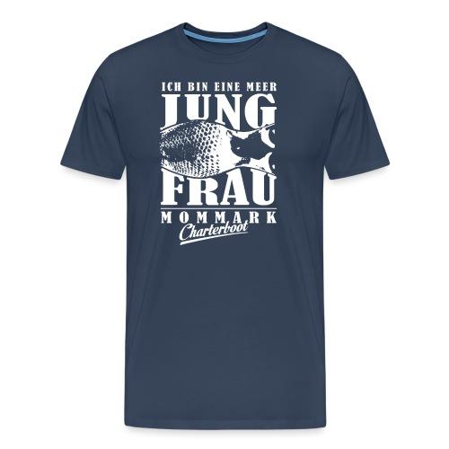 Jungfrau Sternzeichen Fishing Shirt - Männer Premium T-Shirt