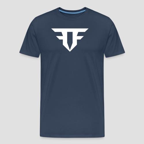 Fripfi Logo Weiß - Männer Premium T-Shirt