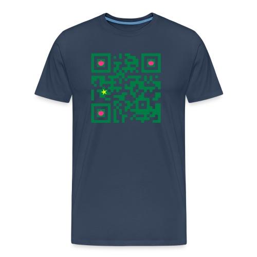 macau spreadshirt qrcode30 - Men's Premium T-Shirt