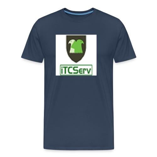 facebook serveur png - T-shirt Premium Homme