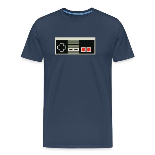 Peliohjain NES - Miesten premium t-paita