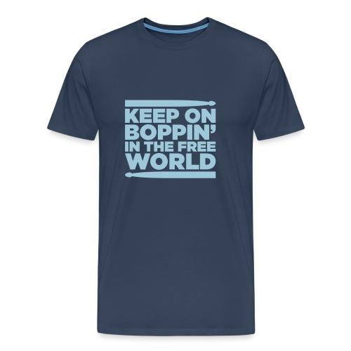 Keep on Boppin' - Men's Premium T-Shirt
