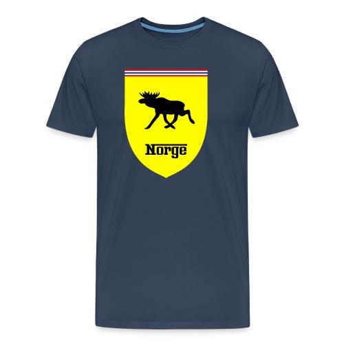 Norge - Premium T-skjorte for menn