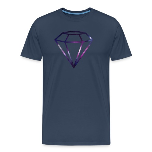 Galaxy Diamond - Premium T-skjorte for menn