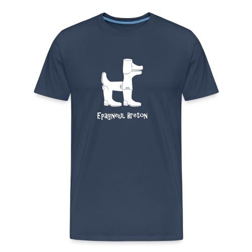 Epagneul breton blanc - T-shirt Premium Homme