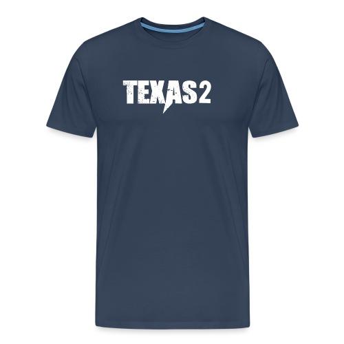 Texas2 White - Männer Premium T-Shirt