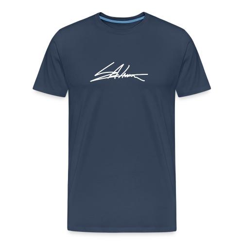 HANDTEKENING - Mannen Premium T-shirt