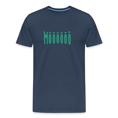 Mööööö png - Männer Premium T-Shirt