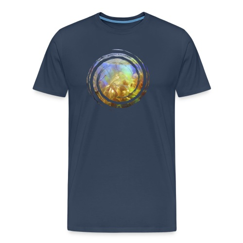 Opal Spirale - Männer Premium T-Shirt
