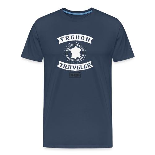 french traveler + LNEV - T-shirt Premium Homme