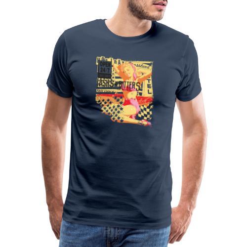 Open 24 7 - Männer Premium T-Shirt