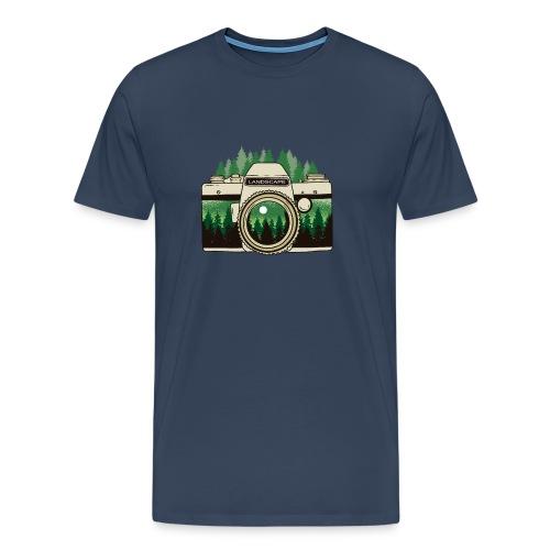 Cámara de Paisaje - Camiseta premium hombre