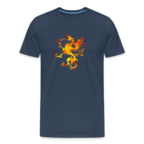 Viking Dragon Symbol Blood Norse Vikings Gift - T-shirt Premium Homme