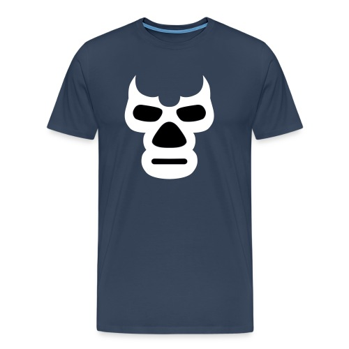 Wrestling_Maske_Daemon - Männer Premium T-Shirt