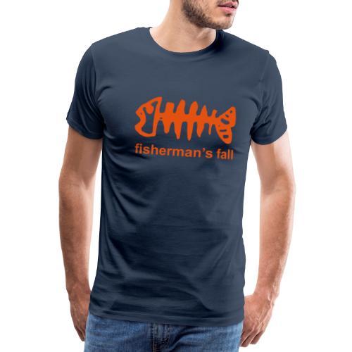 fisch mit fishermans - Männer Premium T-Shirt