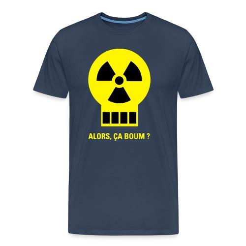 Logo humour Alors, ça boum? - T-shirt Premium Homme