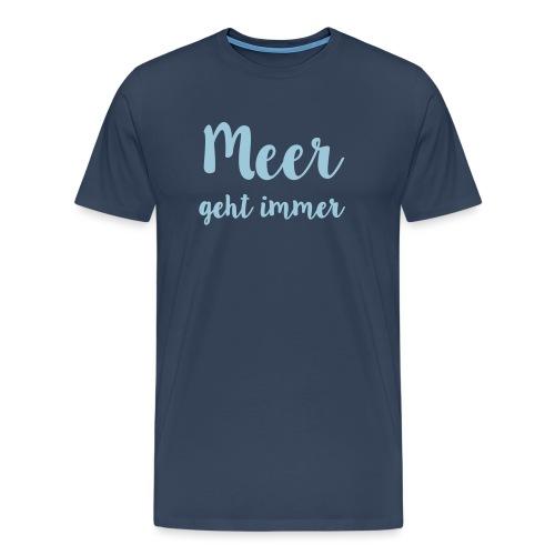 Spreadshirt tive_Meer - Männer Premium T-Shirt