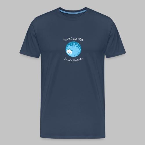 Sad Pluto - Men's Premium T-Shirt