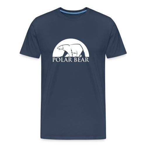 Polar Bear blanc - T-shirt Premium Homme