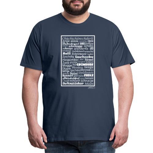 Alemannisch - Männer Premium T-Shirt