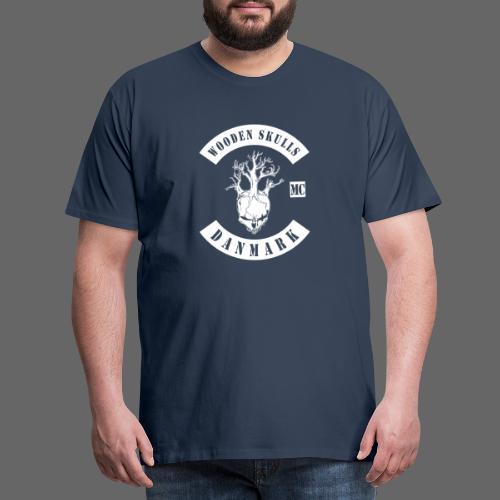 Wooden Skulls - Herre premium T-shirt