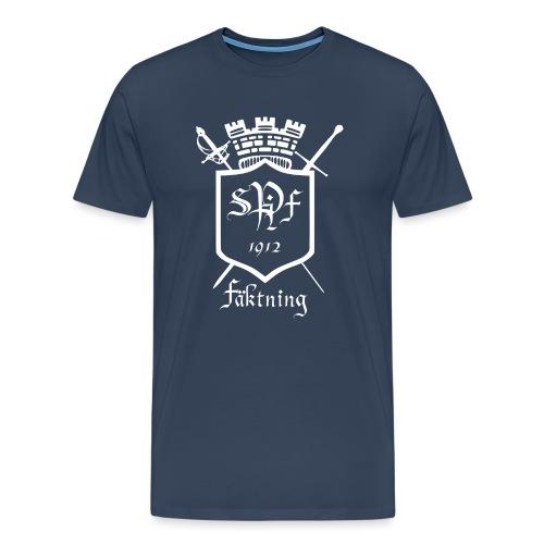SPIFF White T-shirt Herr - Premium-T-shirt herr