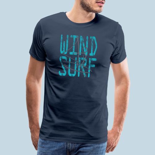 Windsurfer Silhouette - Männer Premium T-Shirt