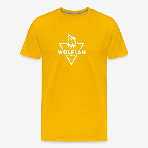 WolfLAN Logo White - Men's Premium T-Shirt