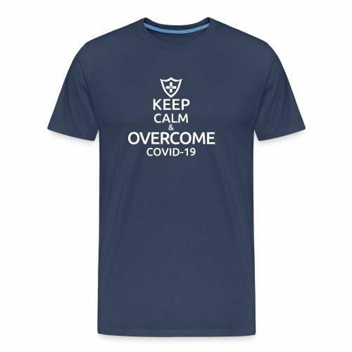 Keep calm and overcome - Koszulka męska Premium