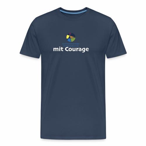Schule mit Courage - Männer Premium T-Shirt