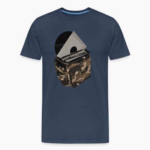 vinyl bag - Koszulka męska Premium