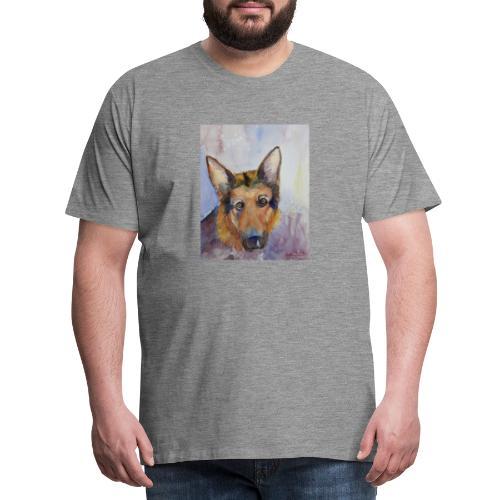 german shepherd wc - Herre premium T-shirt