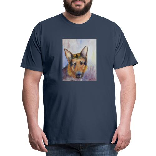 german shepherd wc - Herre premium T-shirt
