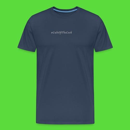 #CultOfTheCock Grey version. Womens Tee - Men's Premium T-Shirt