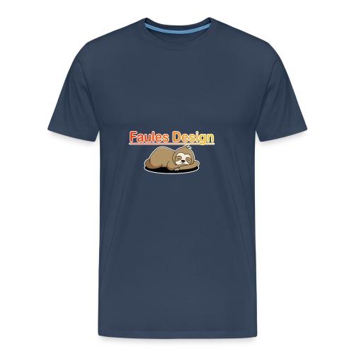 Faules Design - Männer Premium T-Shirt
