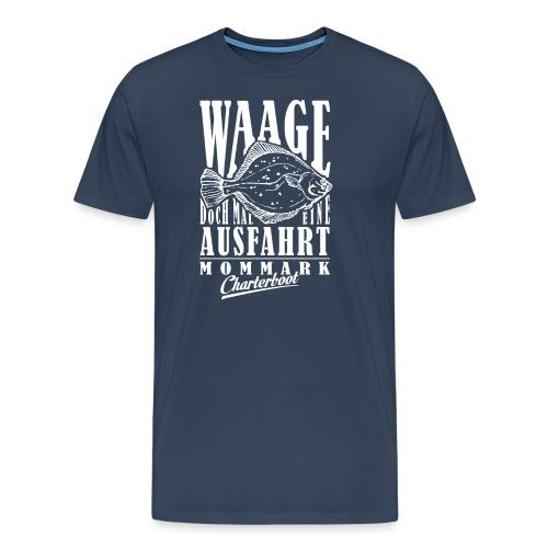 Waage Sternzeichen Fishing Shirt - Männer Premium T-Shirt
