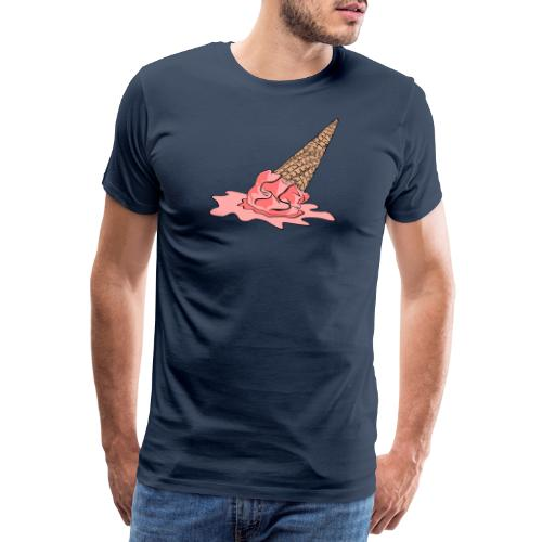 Dropped Ice Cream - Men's Premium T-Shirt