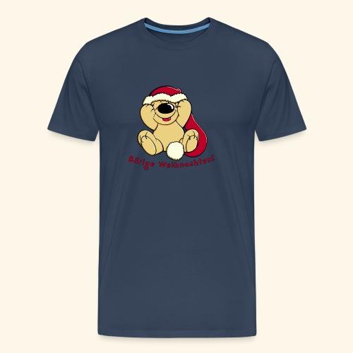 Bärige Weihnachten - Männer Premium T-Shirt