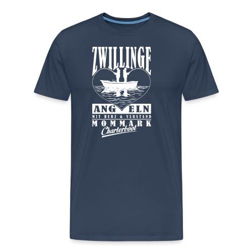 Zwillinge Sternzeichen Fishing Shirt - Männer Premium T-Shirt