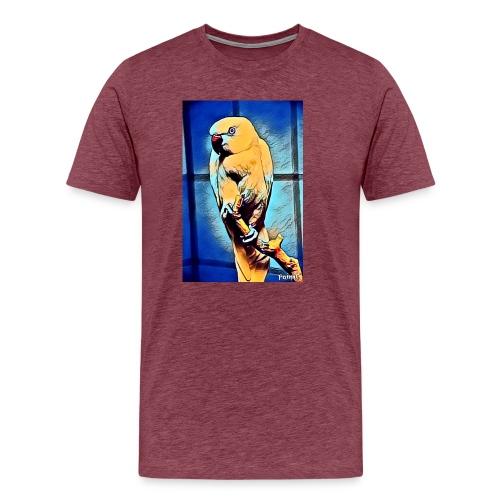Bird in color - Miesten premium t-paita