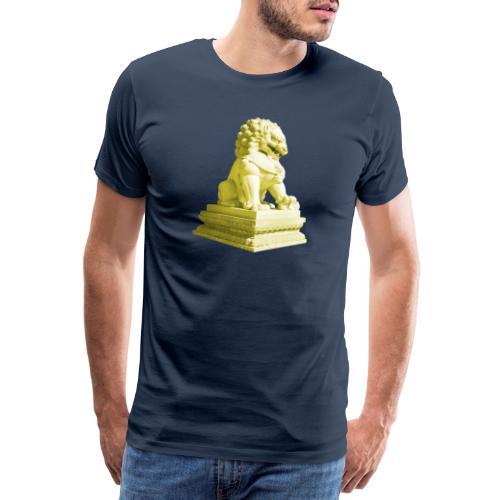 Fu Hund Tempelwächter Wächterlöwe Buddha China - Männer Premium T-Shirt