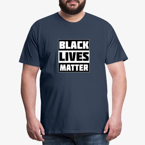 Black Lives Matter BLM - Männer Premium T-Shirt