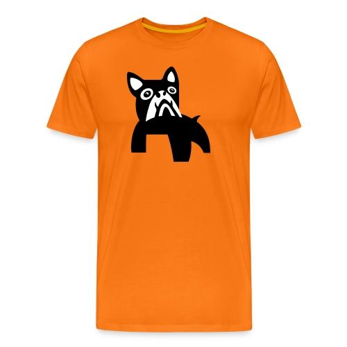 MadDog_kunst mit hund_2fa - Männer Premium T-Shirt