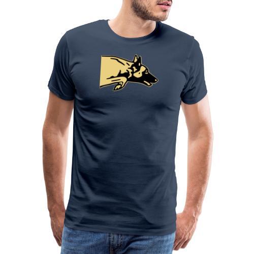 chien saut - T-shirt Premium Homme
