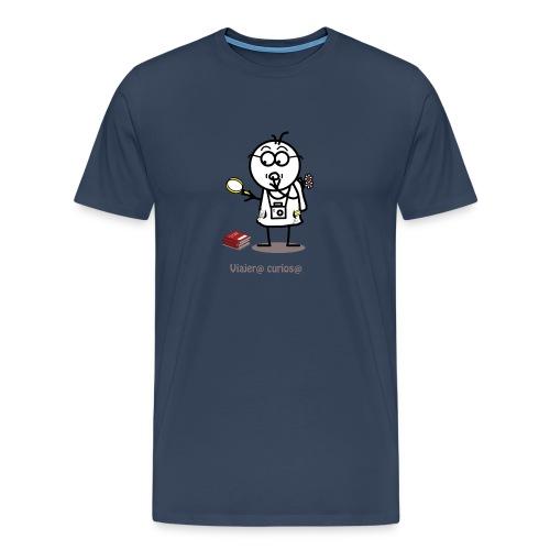 Viajero curioso - Camiseta premium hombre